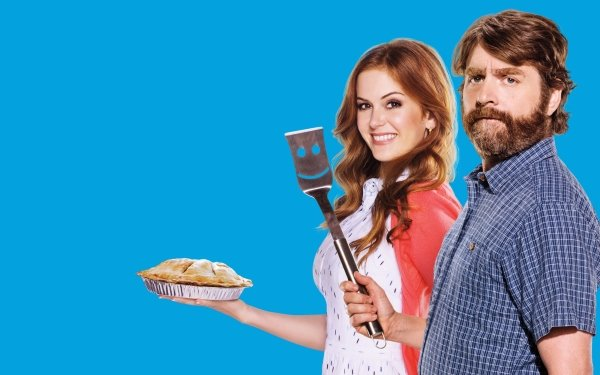 Movie Keeping Up with the Joneses Zach Galifianakis Isla Fisher HD Wallpaper | Background Image