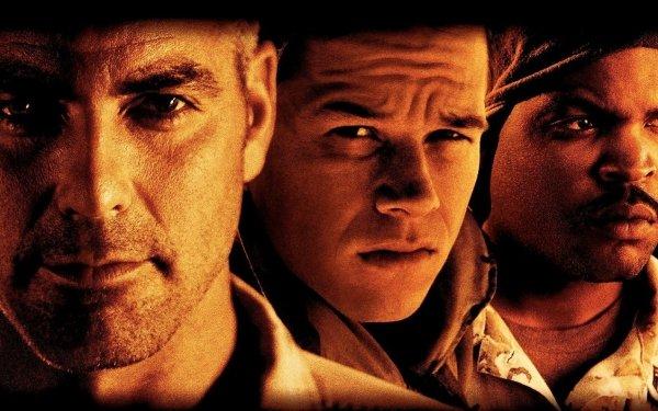 Movie Three Kings Mark Wahlberg George Clooney Ice Cube HD Wallpaper | Background Image