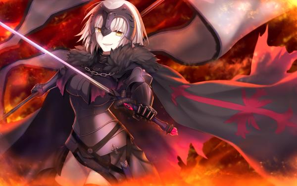 Anime Fate/Grand Order Fate Series Ruler Avenger Jeanne d'Arc Alter Jeanne d'Arc HD Wallpaper | Background Image