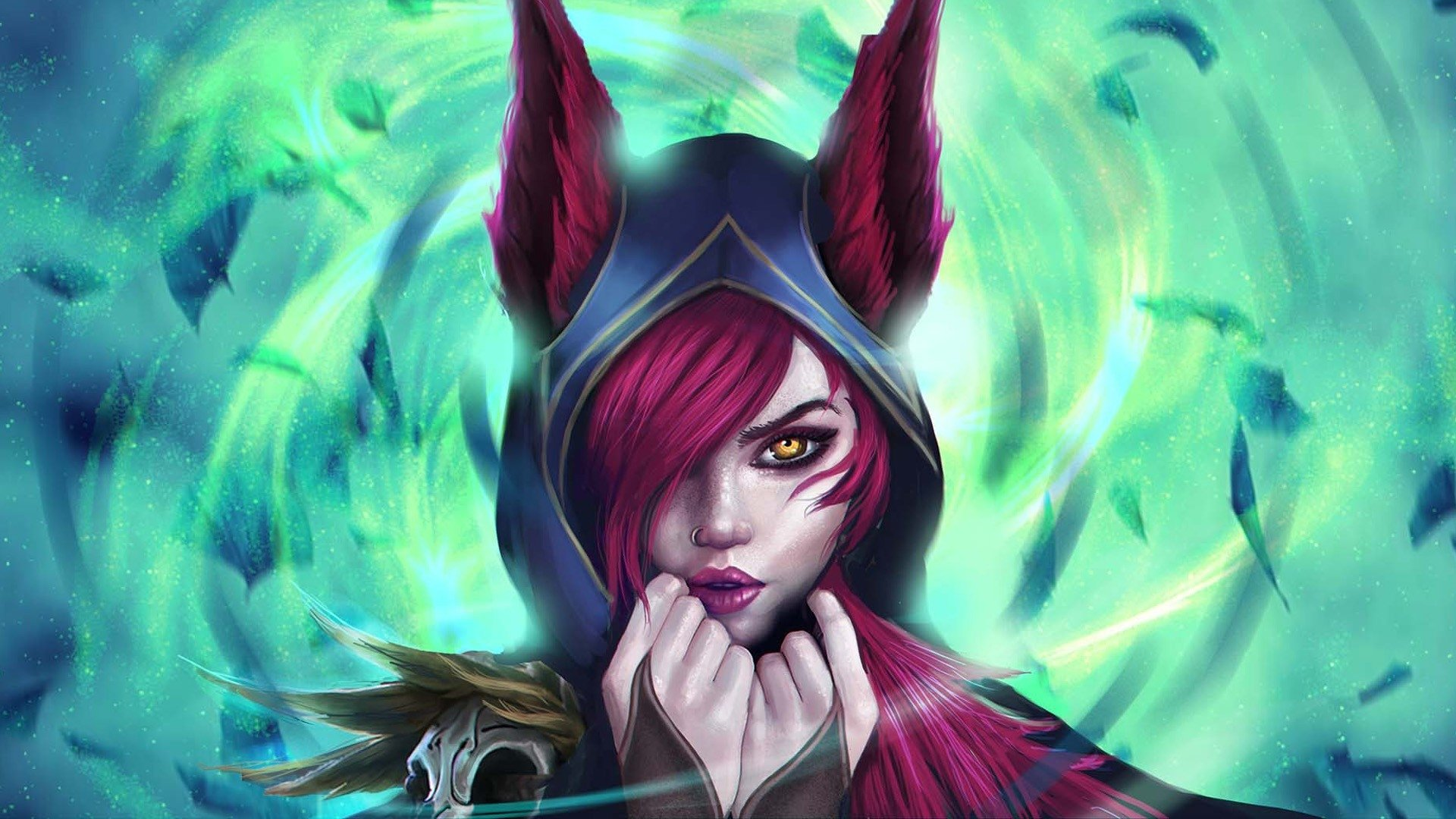 19 Xayah League Of Legends Hd Wallpapers Background Images