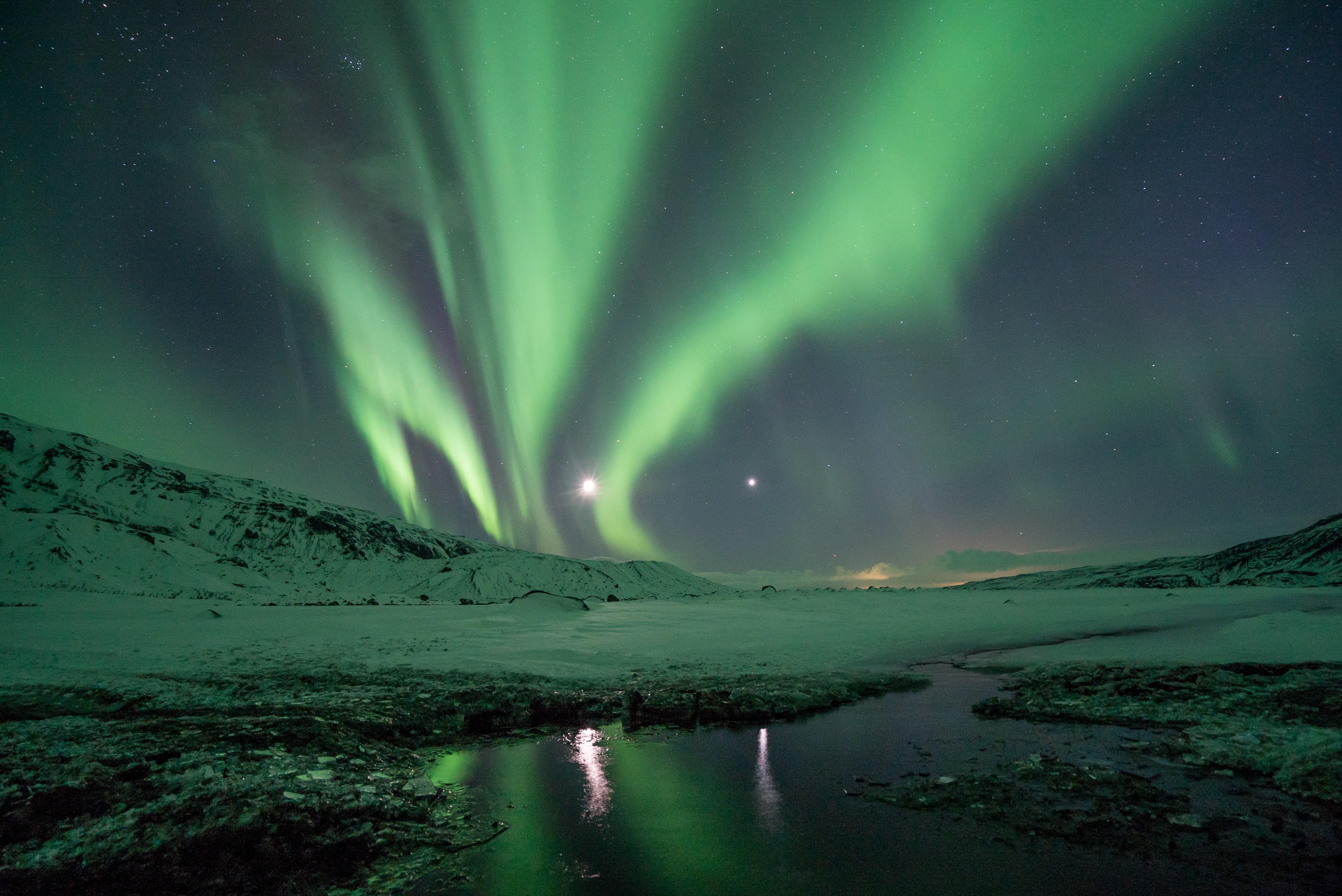 Aurora boreale 4k ultra hd wallpaper sfondi 4240x2832 for Sfondi aurora boreale