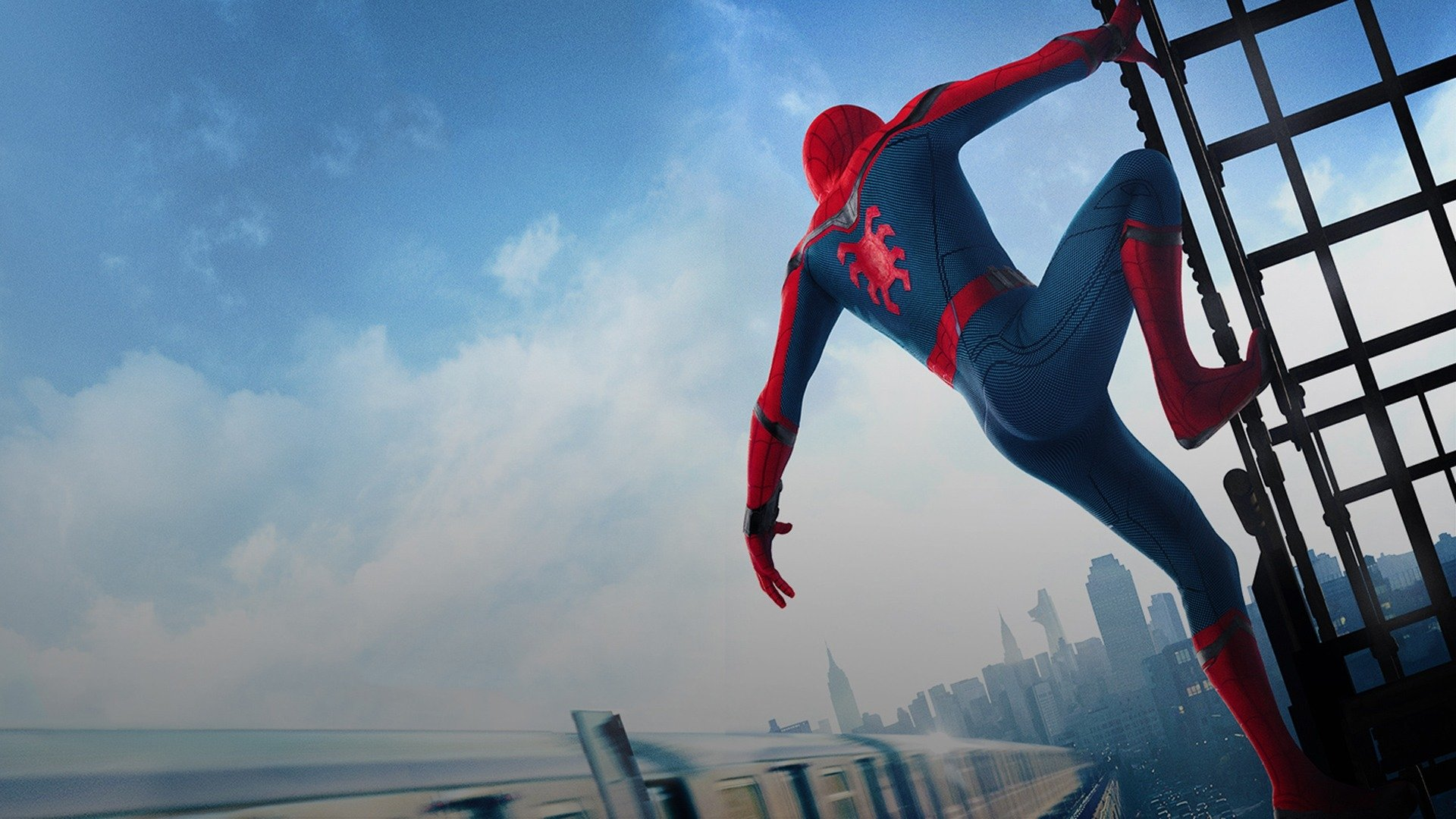 SpiderMan Homecoming Full HD Wallpaper and Background