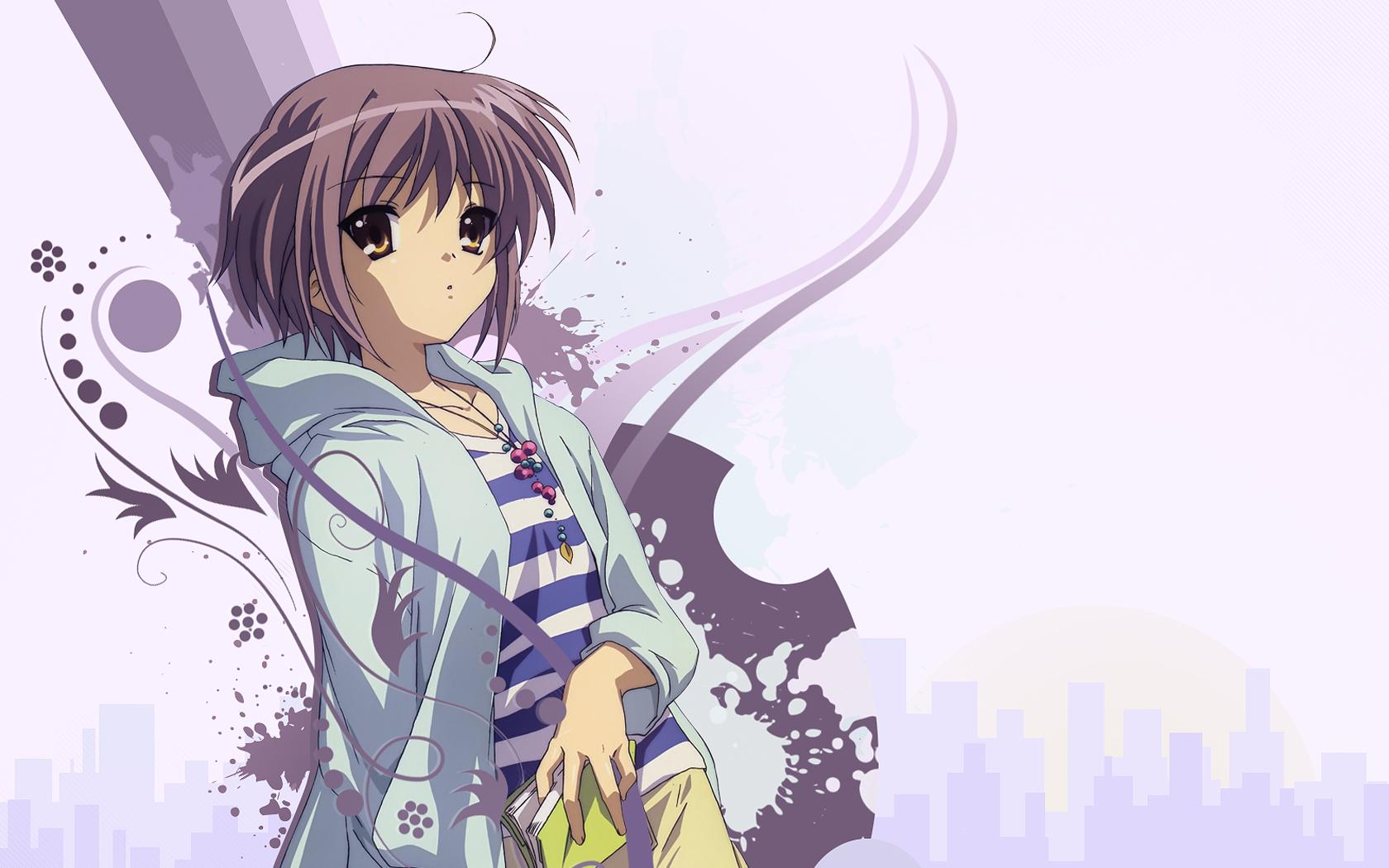Anime - The Melancholy Of Haruhi Suzumiya Yuki Nagato Anime Sakura ...