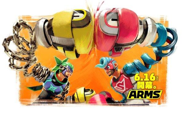 Video Game Arms Ninjara Spring Man HD Wallpaper | Background Image