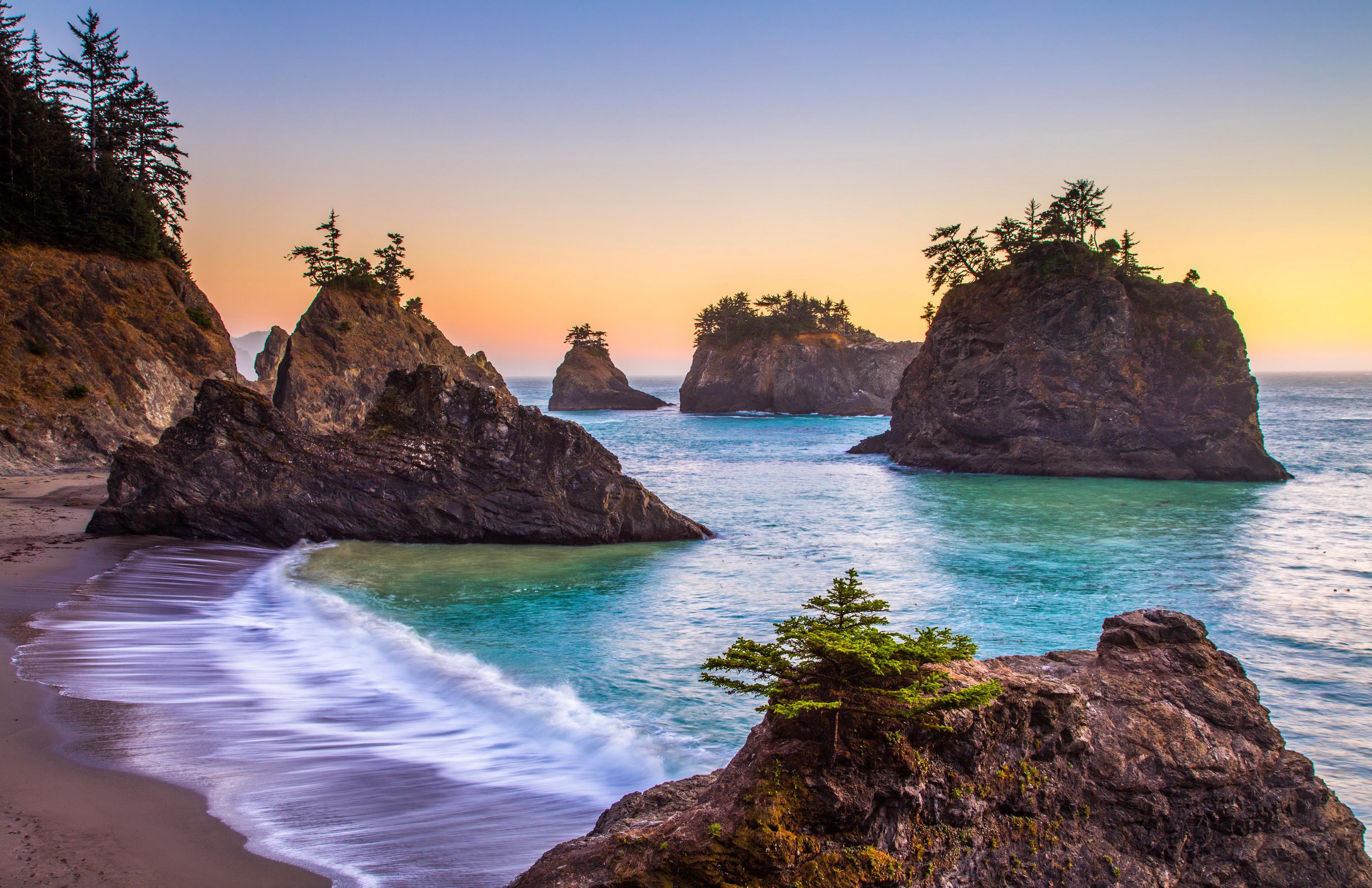 Oregon Wallpapers Hd: Coast Of Oregon HD Wallpaper