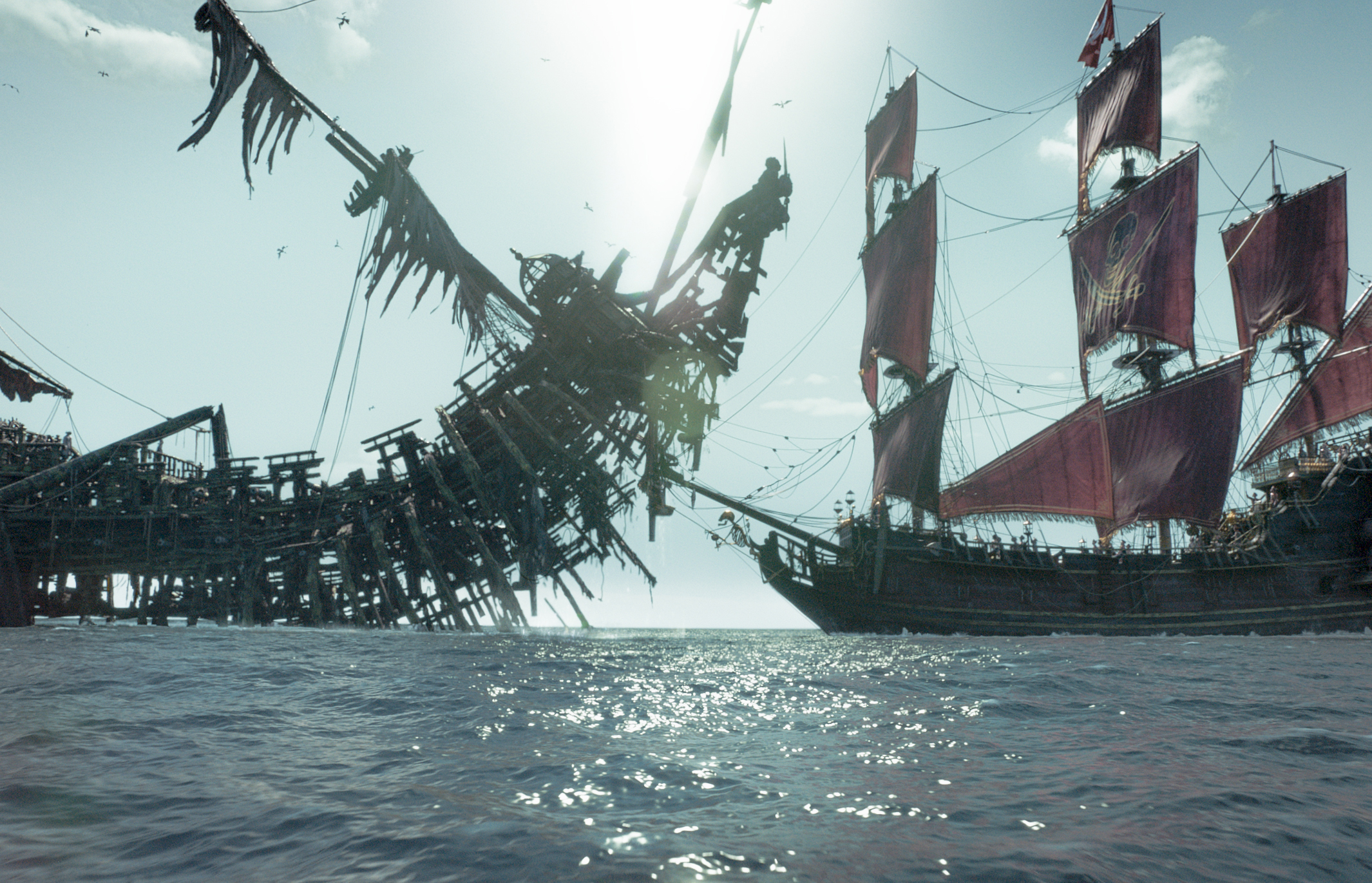 Pirates Of The Caribbean Dead Men Tell No Tales Full HD Wallpaper