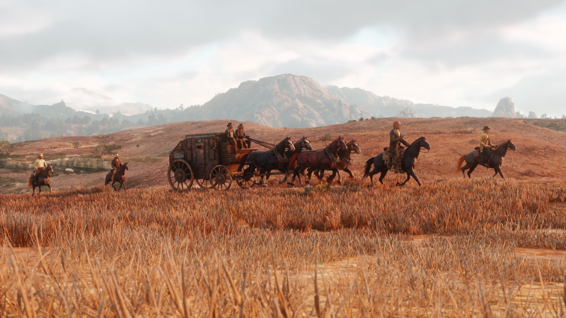 Red Dead Redemption 2 Hd Wallpaper Background Image 1920x1080