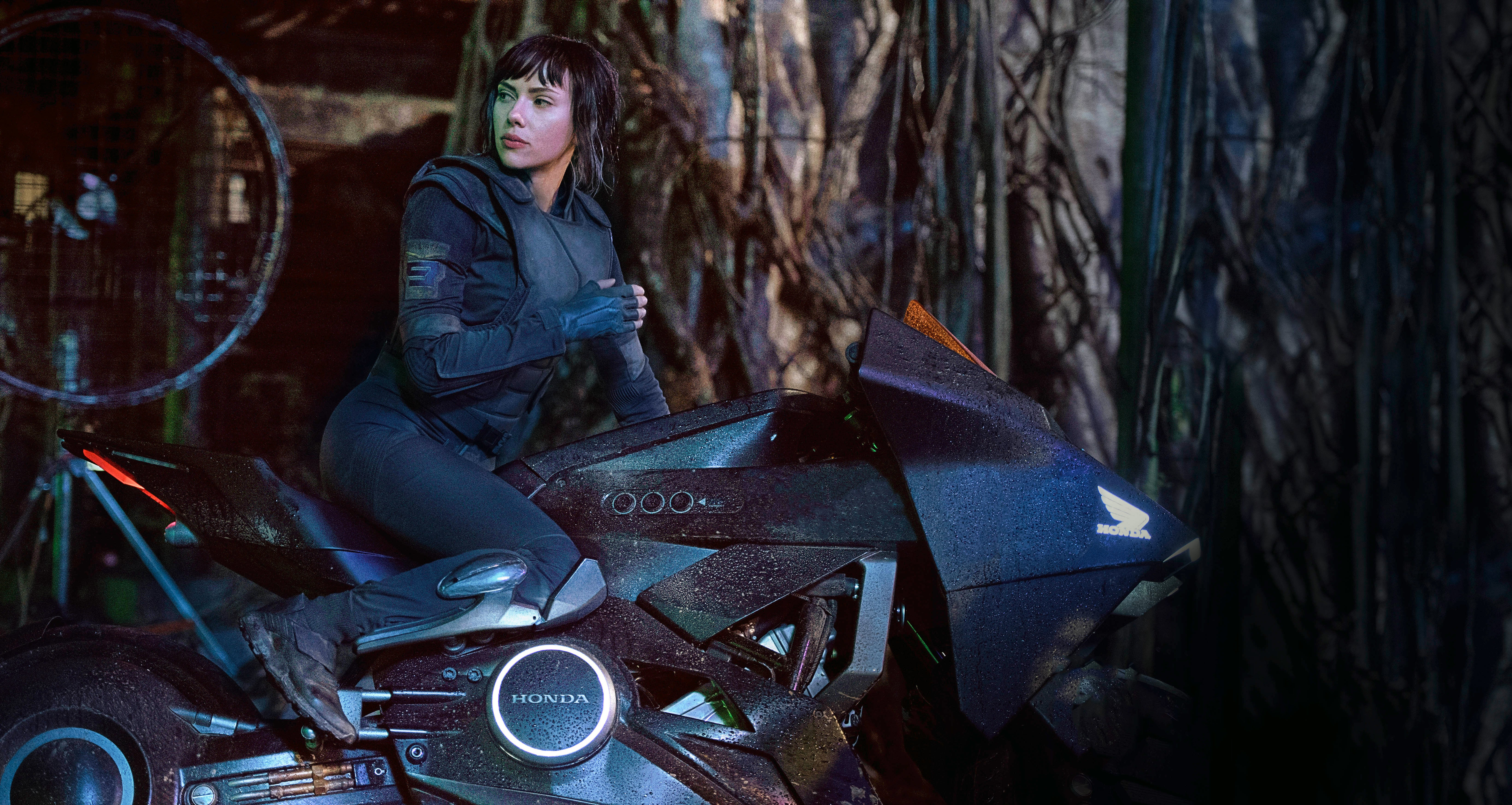 37 Ghost In The Shell 2017 Hd Wallpapers Background Images