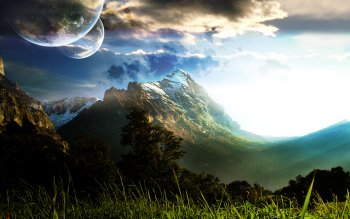 Sci Fi - Landscape Wallpapers and Backgrounds ID : 83704