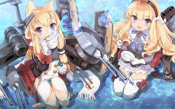 Anime Azur Lane Bilan Hangxian Queen Elizabeth Warspite HD Wallpaper | Background Image
