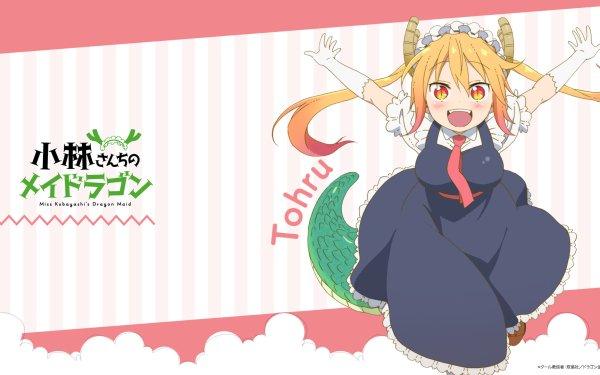 Anime Miss Kobayashi's Dragon Maid Tohru HD Wallpaper   Background Image