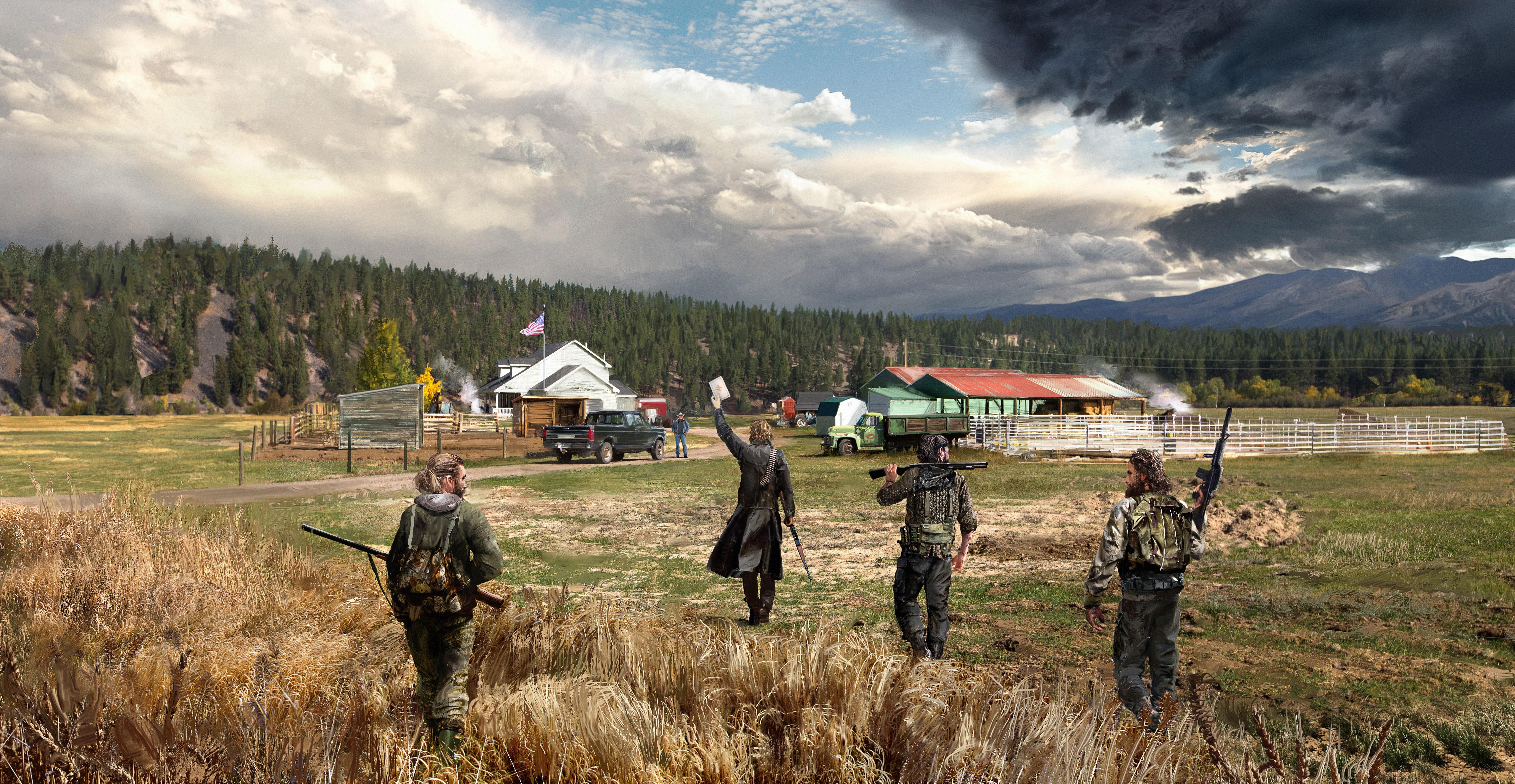 Far Cry 5 Wallpapers: Far Cry 5 5k Retina Ultra HD Wallpaper