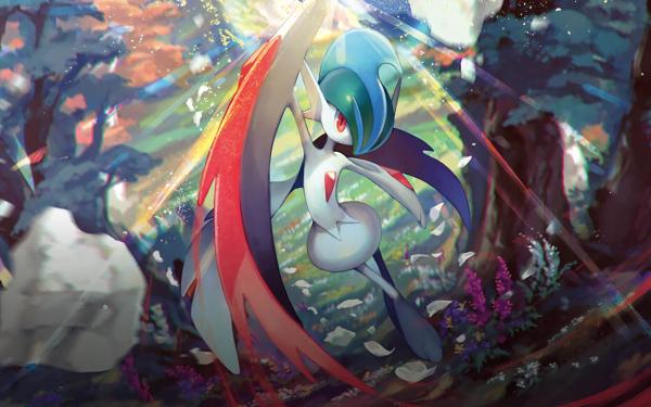 Anime Pokémon Gallade Mega Gallade HD Wallpaper | Background Image