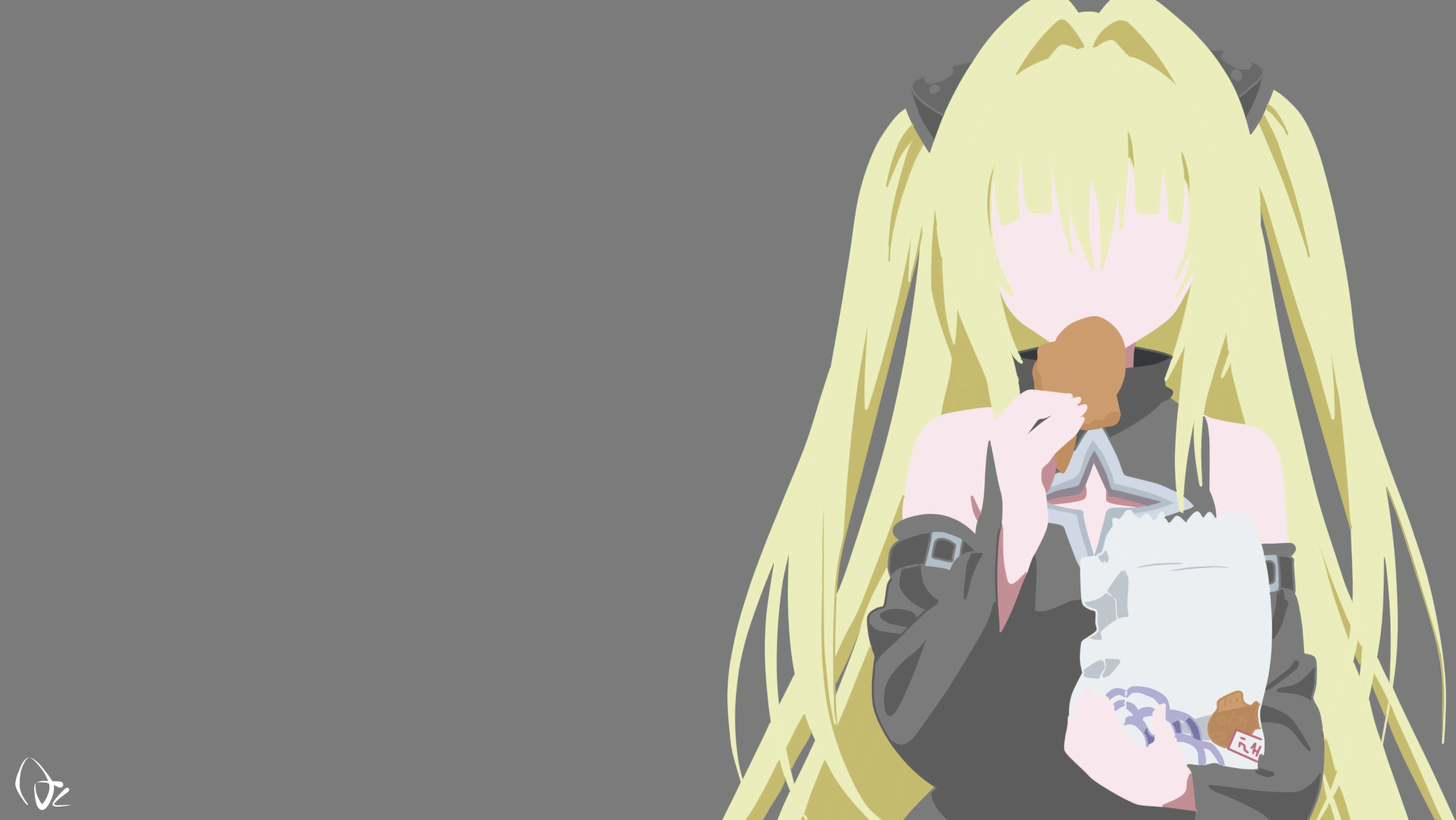Yami With Taiyaki Hd Wallpaper Background Image 2176x1226 Id