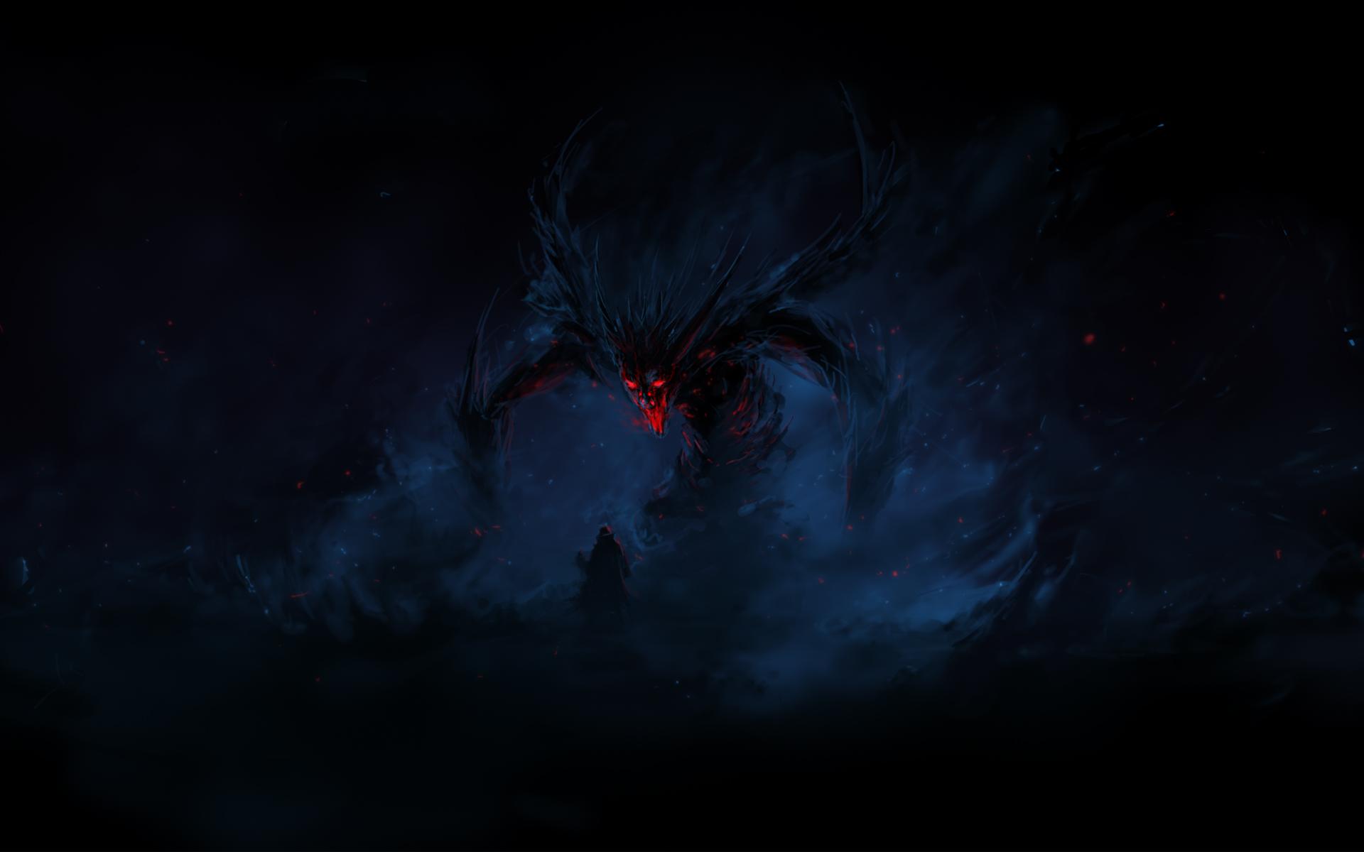 Demon hd wallpaper background image 1920x1200 id - Demon wallpaper 4k ...