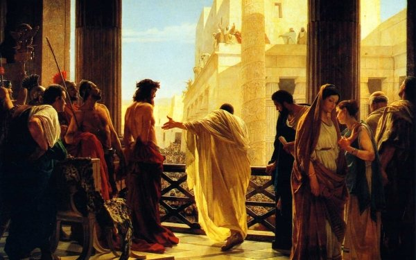 Artistic Painting Religion Christian Rome Christ Jesus HD Wallpaper | Background Image
