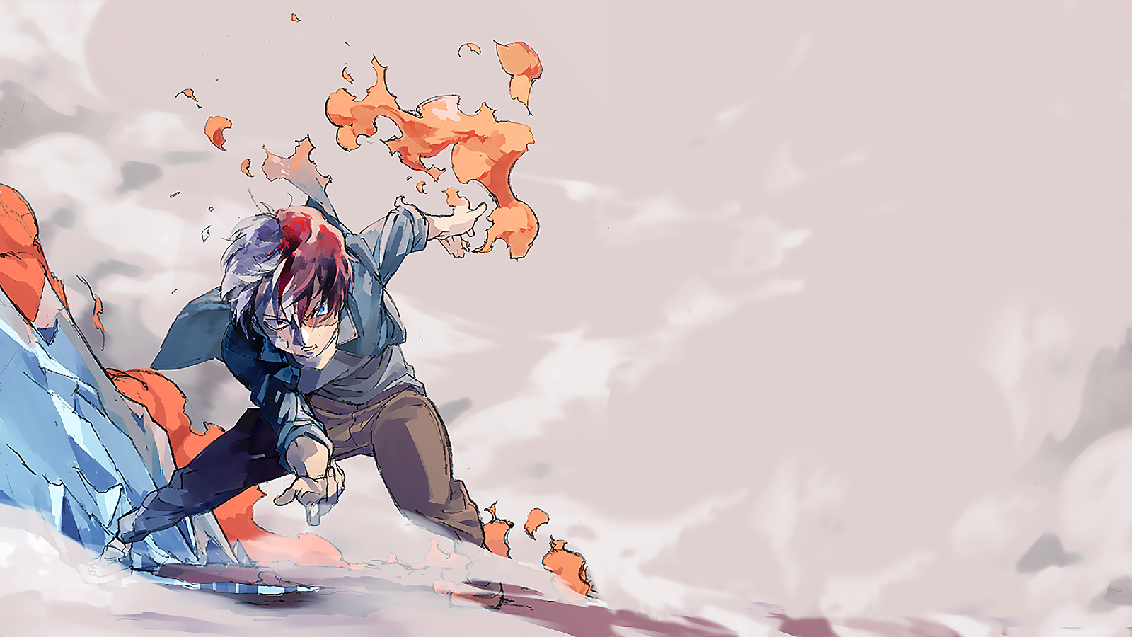 My Hero Academia Todoroki Wallpaper And Background Image
