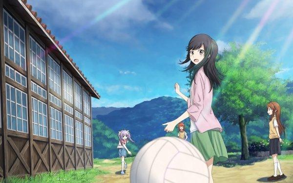Anime Non Non Biyori HD Wallpaper   Background Image