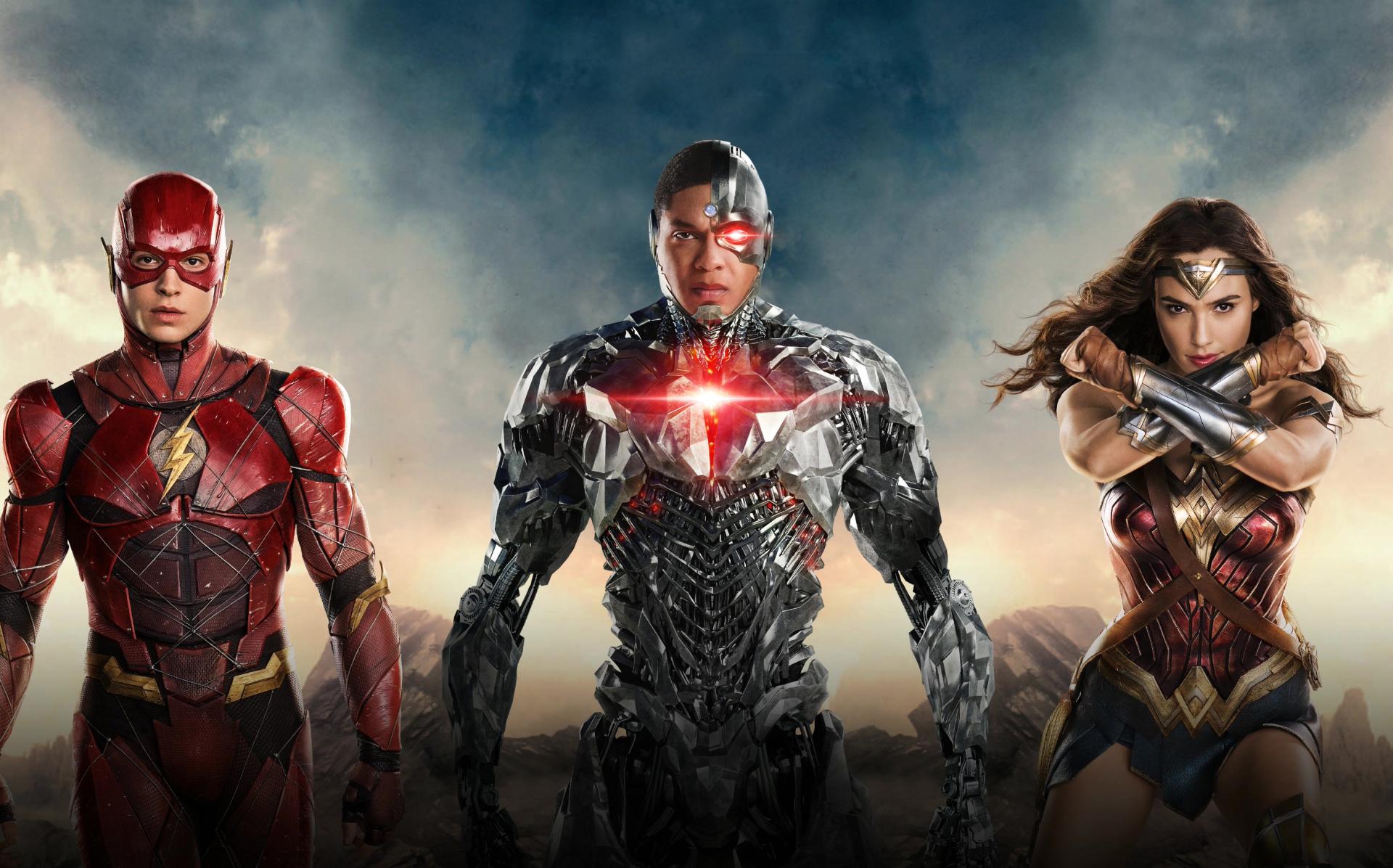 Wallpaper Justice League 2017 Movies Flash Superman: Justice League HD Wallpaper