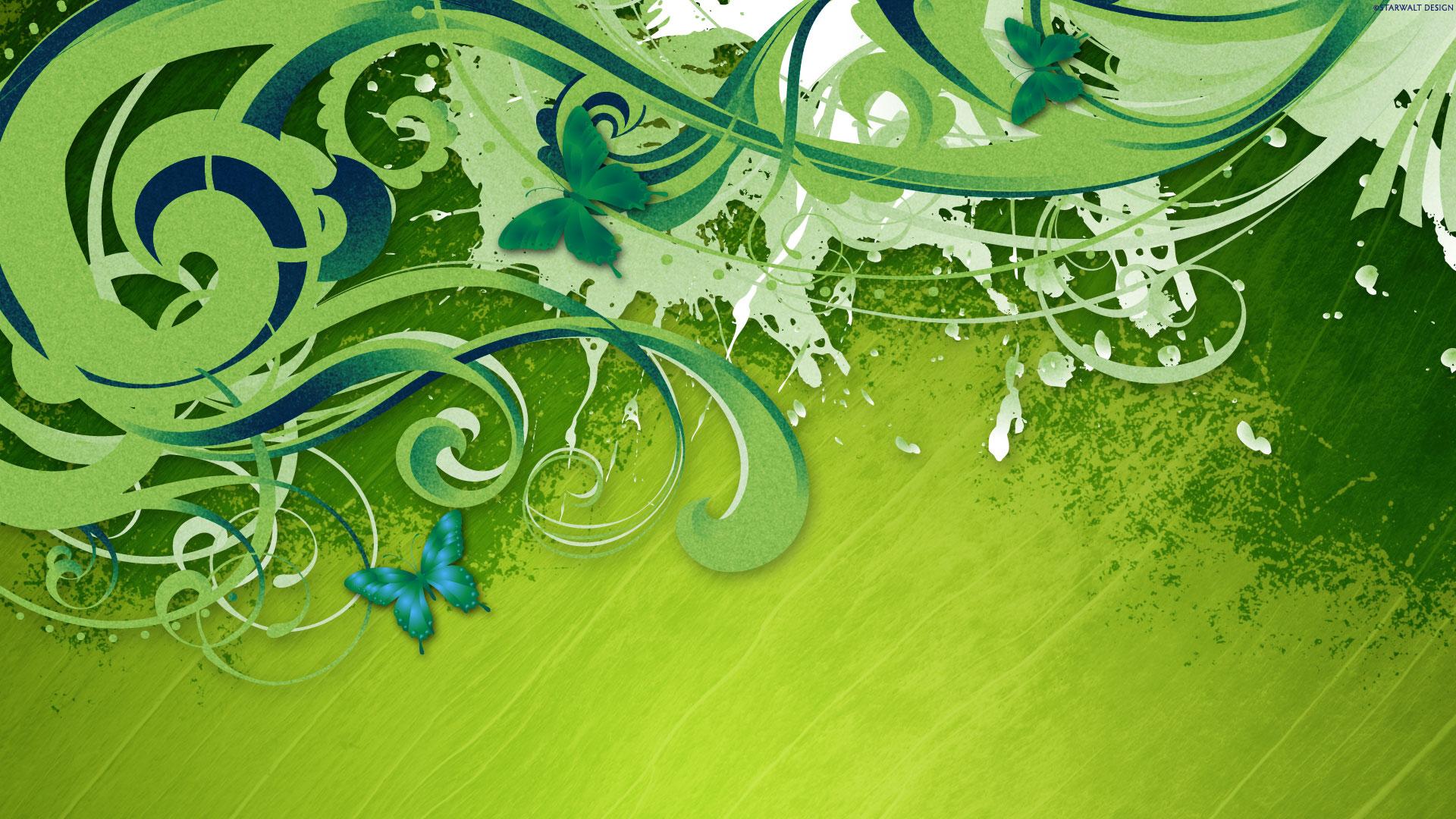 Verde Fondo De Pantalla Hd Fondo De Escritorio 1920x1080