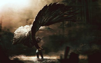 Oscuro - Angel Wallpapers and Backgrounds ID : 84206