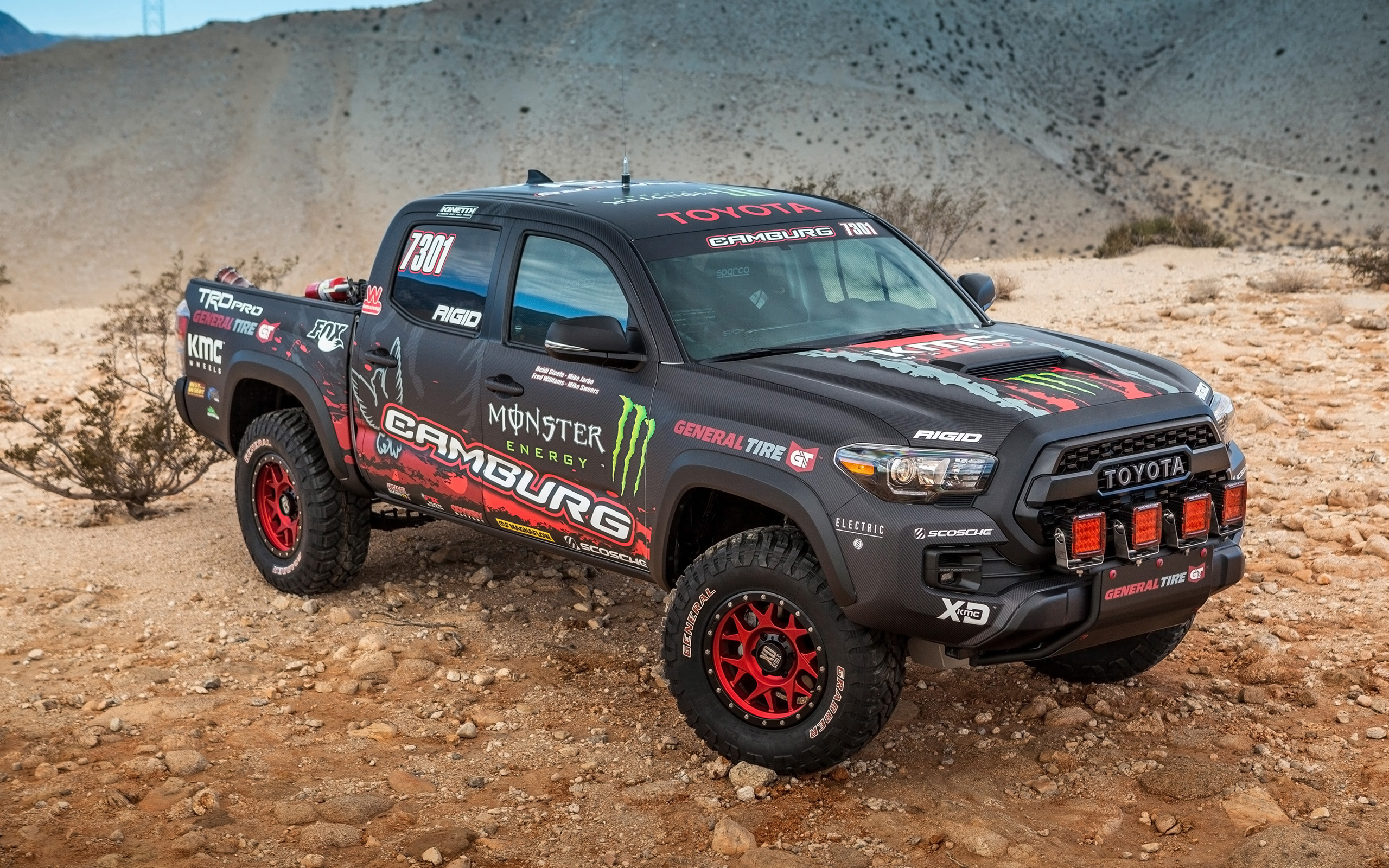 Toyota Tacoma Hd Wallpaper Background Image 2560x1600
