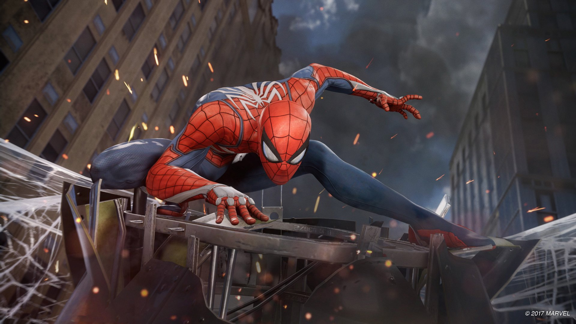 Video Game - Spider-Man (PS4)  Spider-Man Marvel Comics Плойка Wallpaper