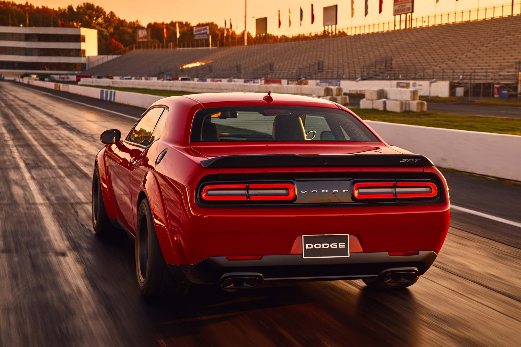 dodge challenger srt demon full hd wallpaper and background