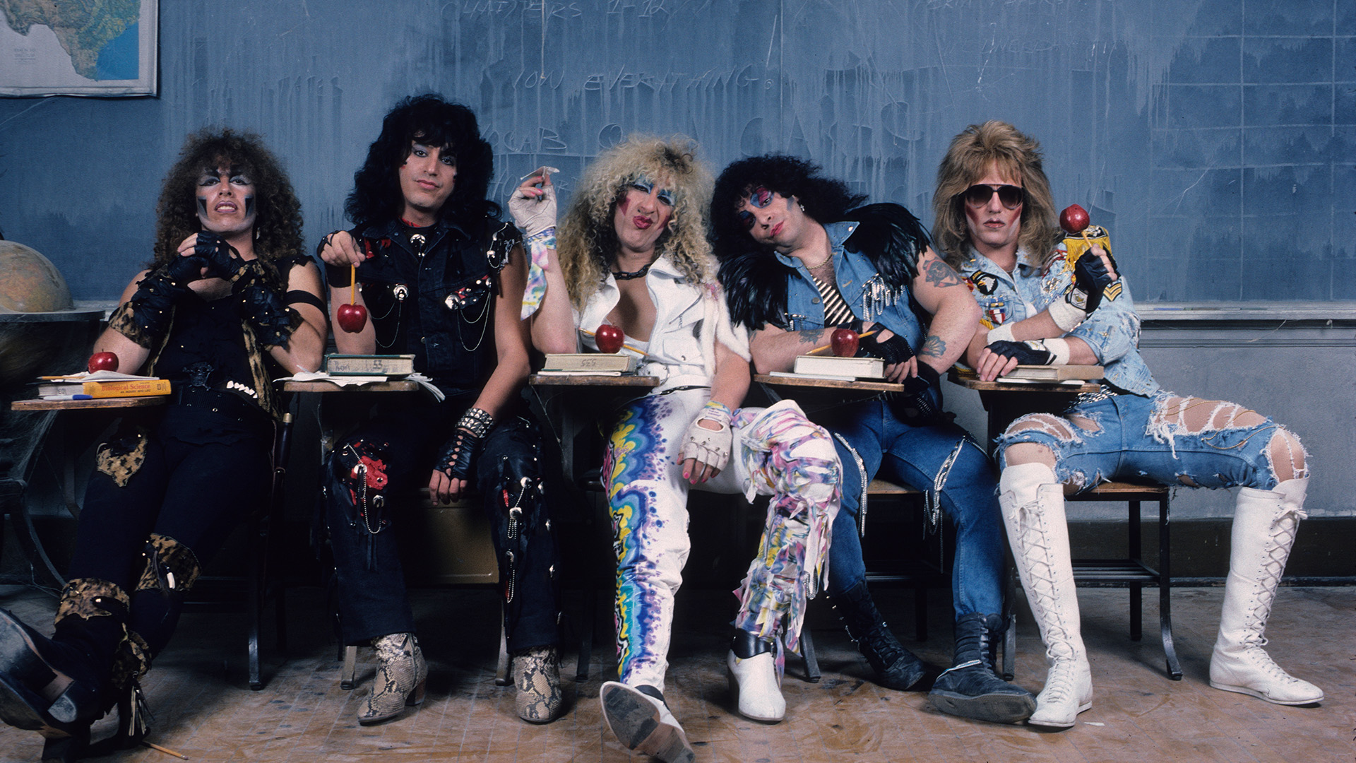 Twisted Sister Full HD Wallpaper And Background Image