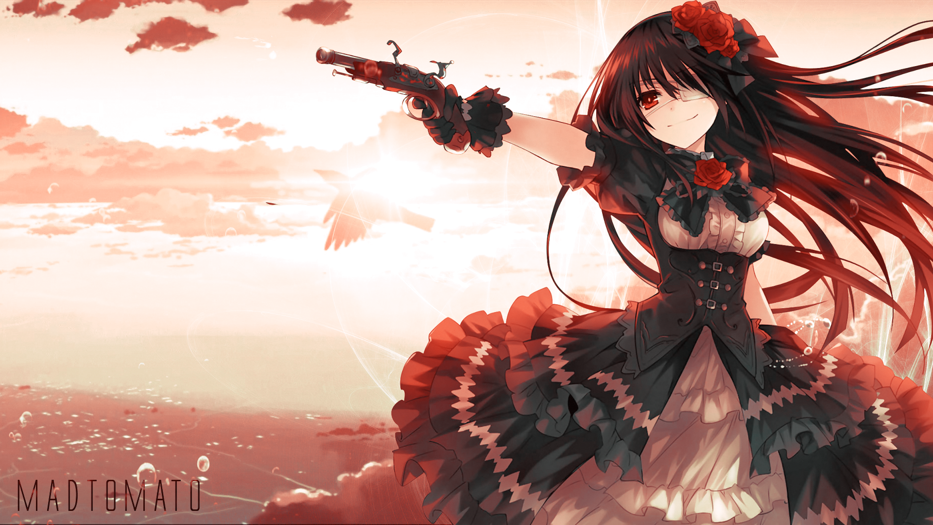Date A Live Hd Wallpaper Background Image 1920x1080