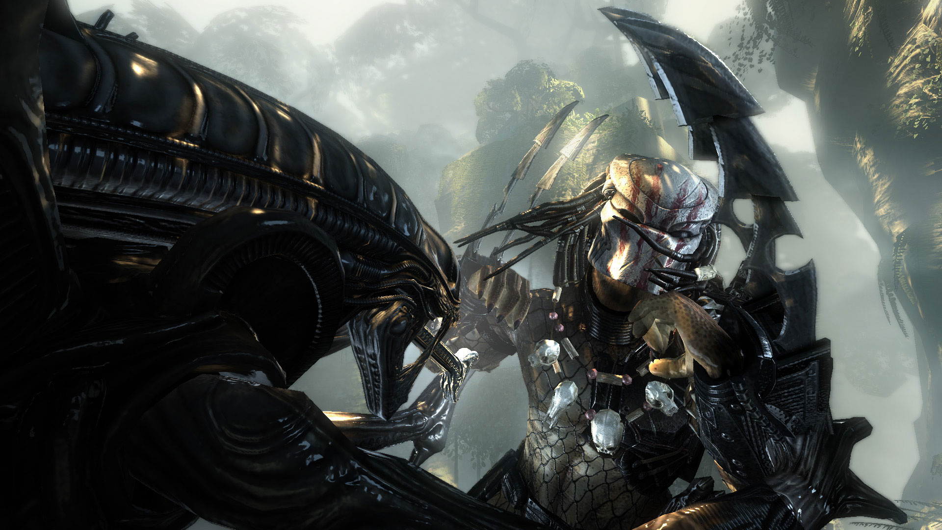 Aliens Vs. Predator Full HD Wallpaper and Background
