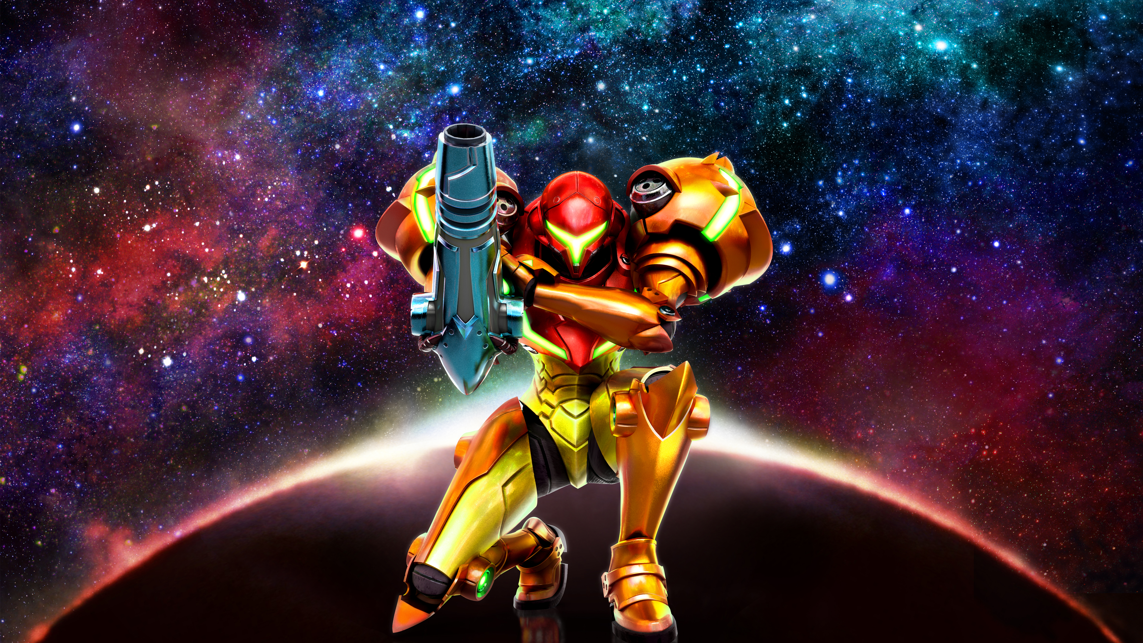 Samus Wallpaper [OC] : Metroid