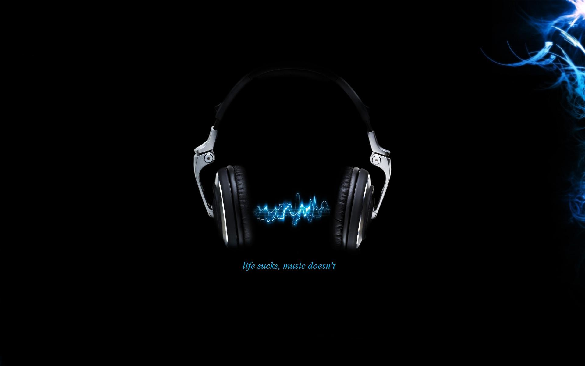 Musik - Hörlurar  Pop Musik Bakgrund