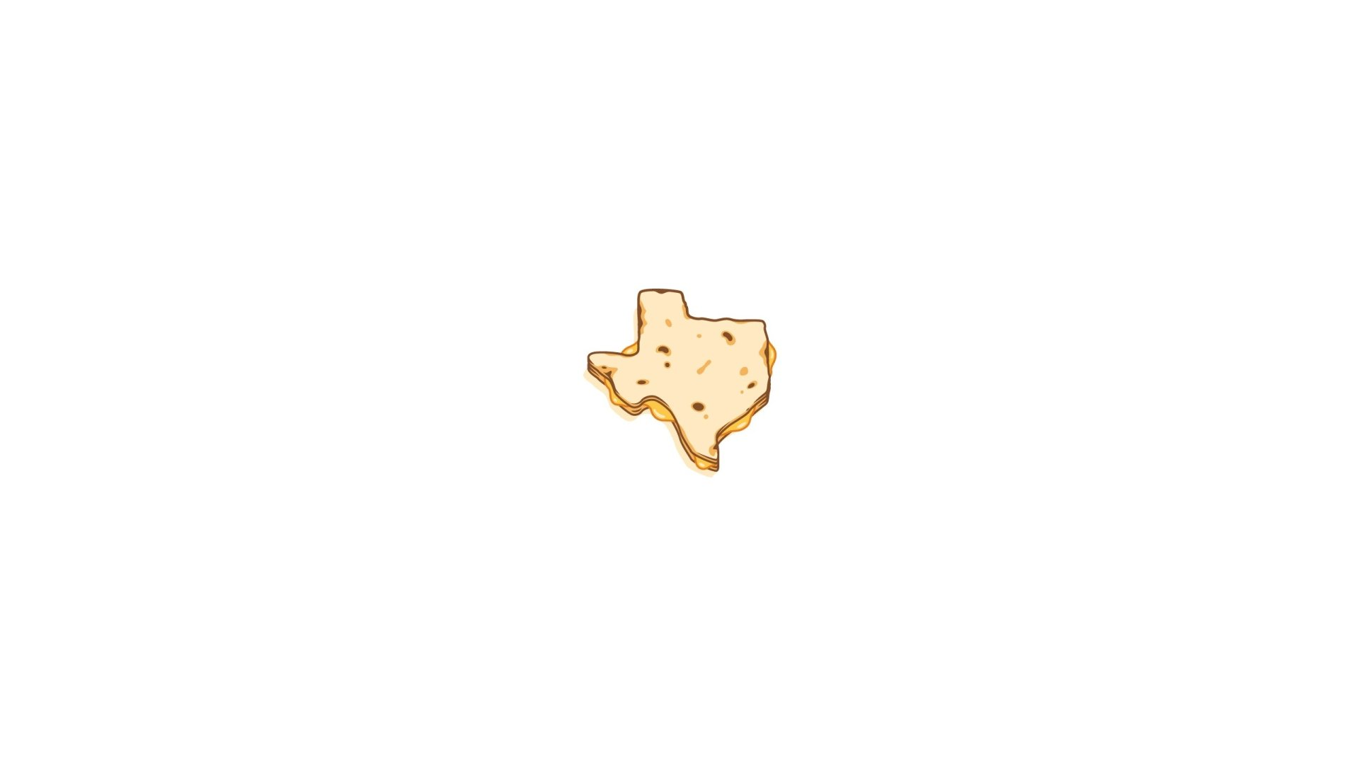 Artistic - Minimalism  Texas Wallpaper
