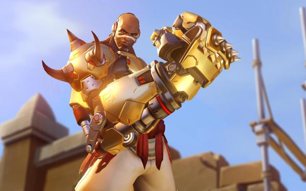 Video Game Overwatch Doomfist HD Wallpaper | Background Image