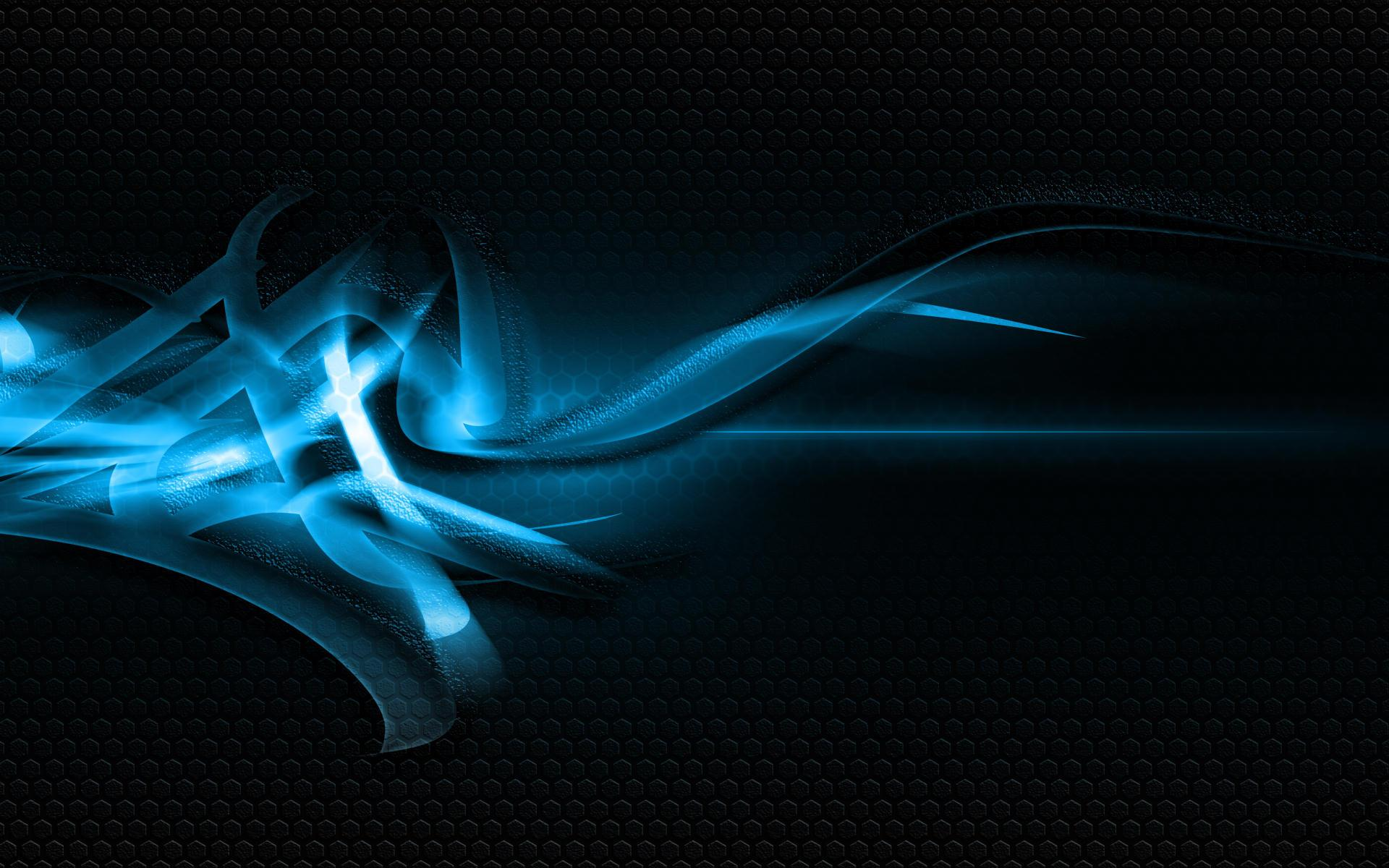 Abstract - Blue Wallpaper