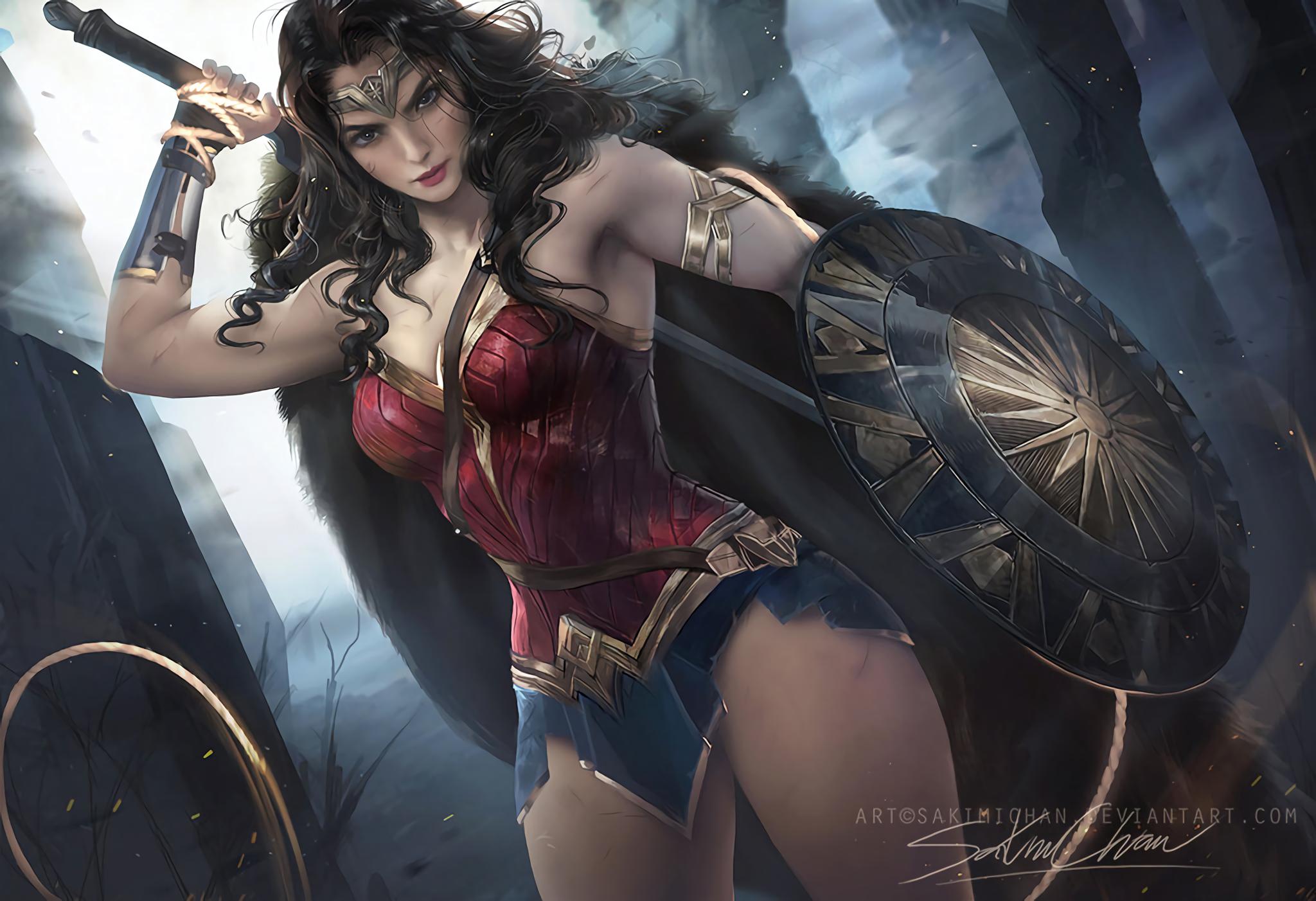 108 Wonder Woman HD Wallpapers