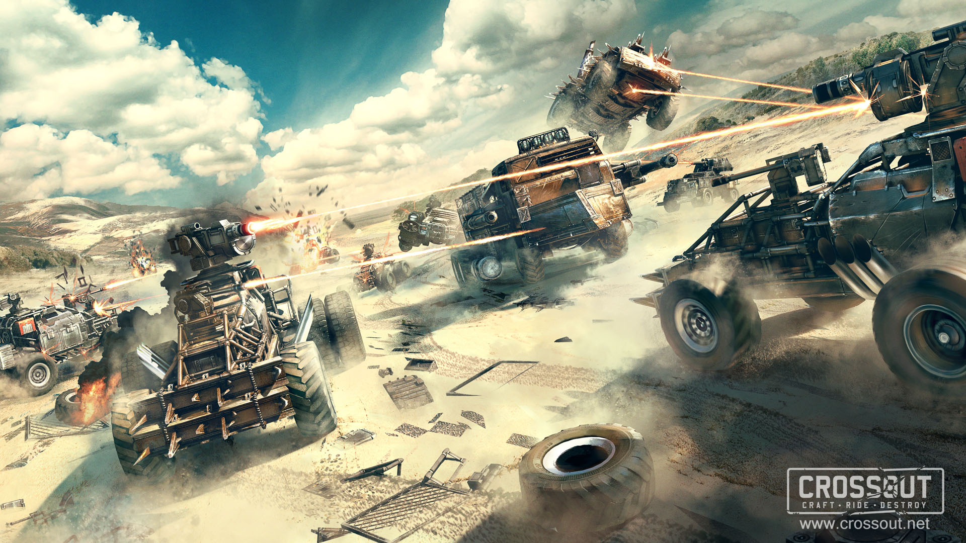 Crossout Hd Wallpaper Background Image 1920x1080 Id854263