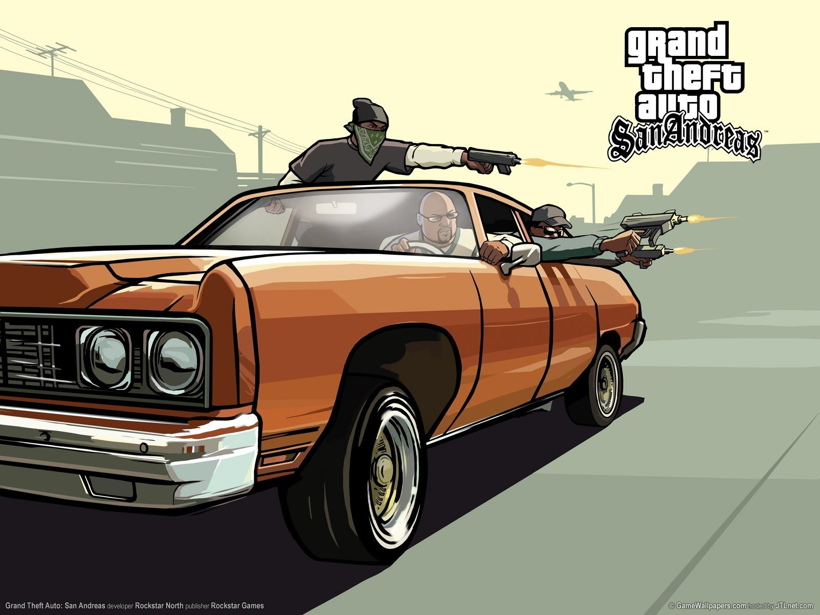 14 Grand Theft Auto: San Andreas HD Wallpapers | Background Images
