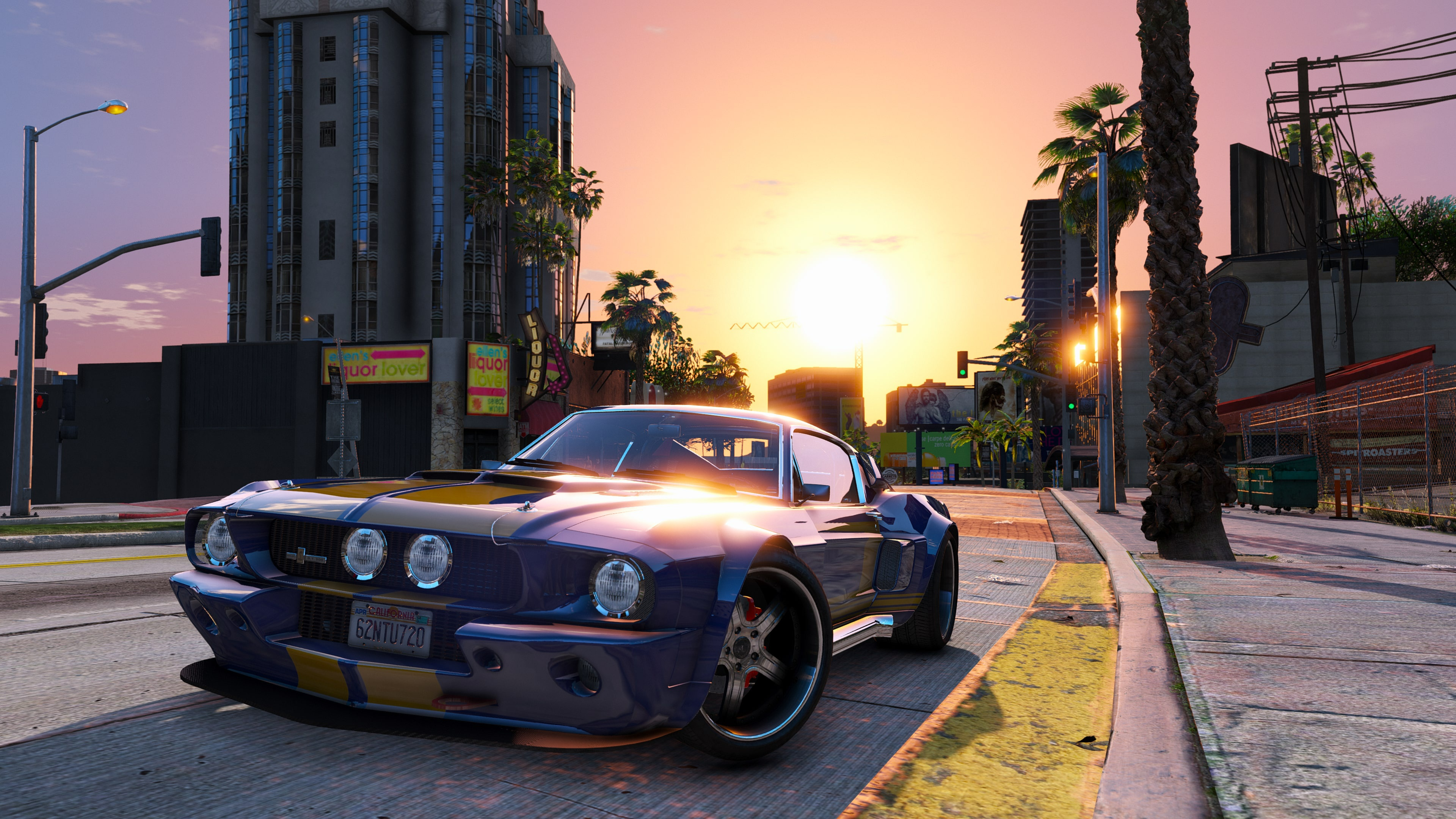 Grand Theft Auto V 4k Ultra HD Wallpaper | Background ...