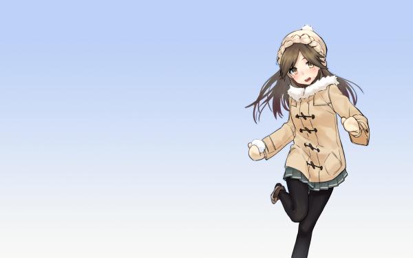 Anime Kantai Collection Arashio HD Wallpaper | Background Image