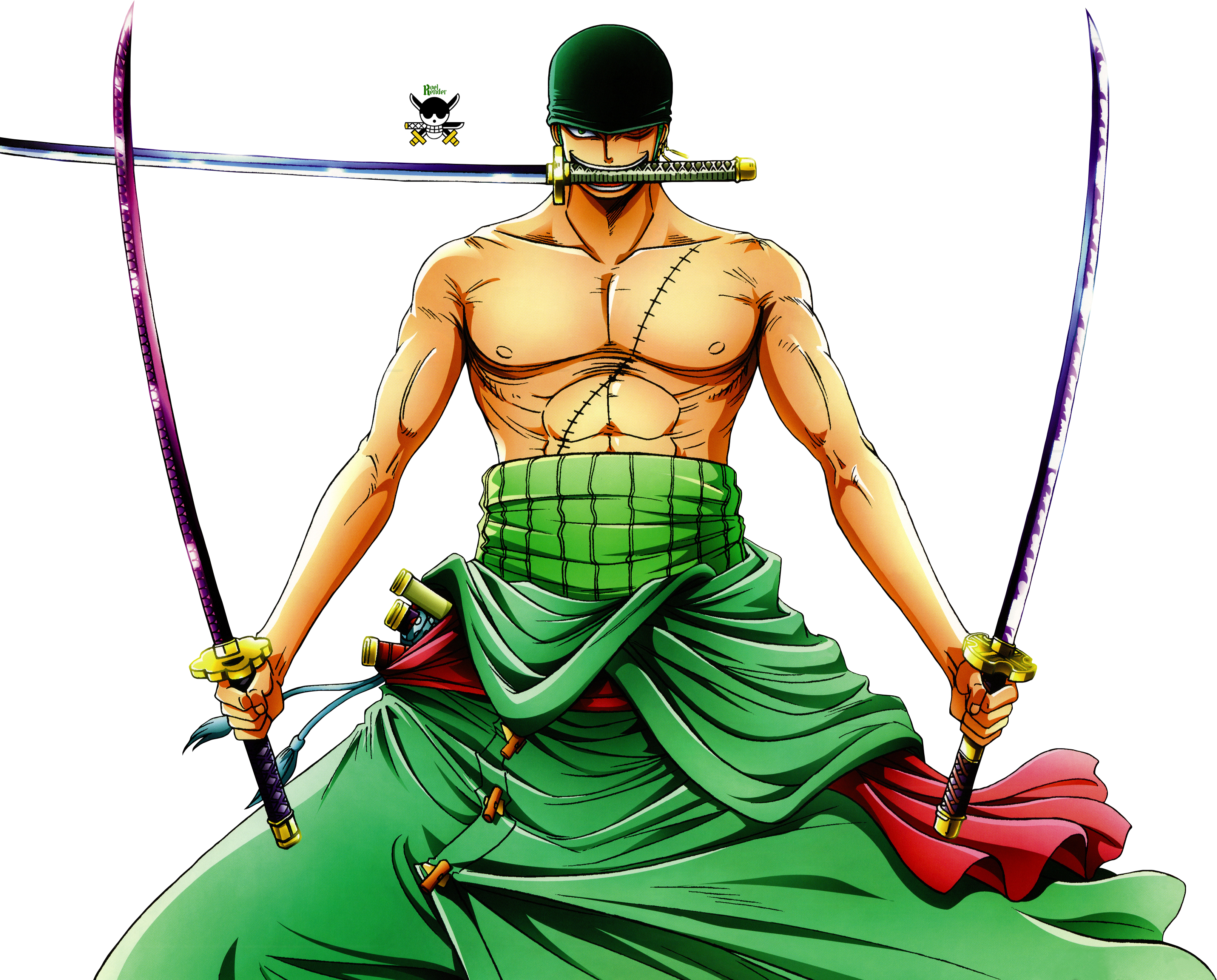 The power of zoro hd wallpaper background image 3223x2596 id 857799 wallpaper abyss - Zoro one piece dessin ...