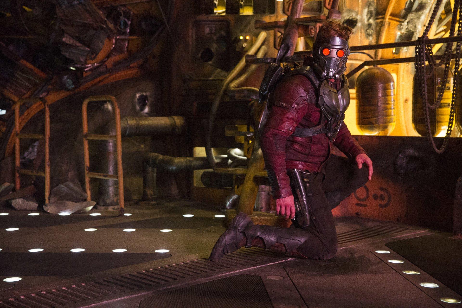 电影 - 银河护卫队2  Chris Pratt Star Lord 壁纸