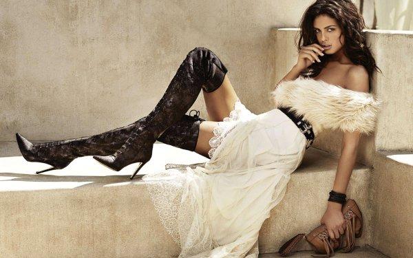 Women Model Models Bojana Krsmanović Serbian Girl Woman Brunette HD Wallpaper | Background Image