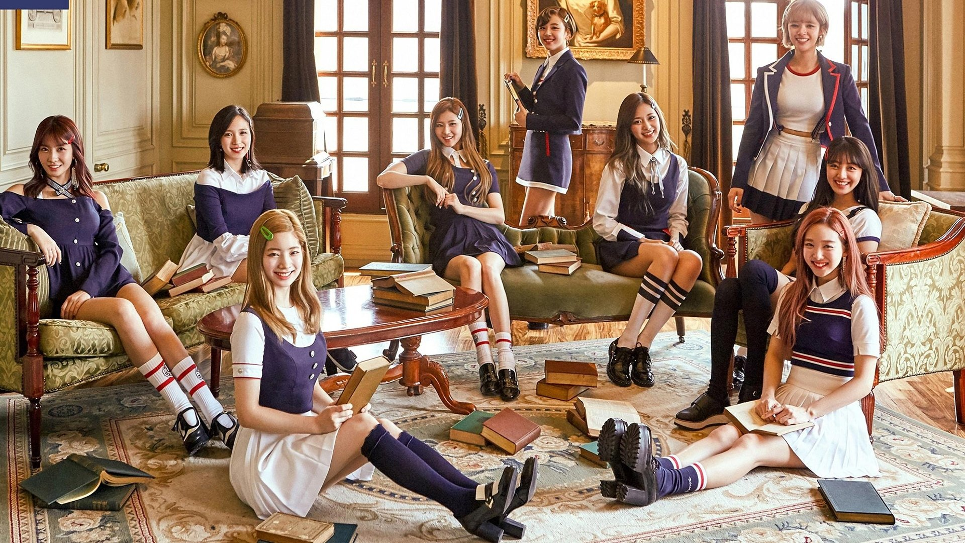 Twice Hd Wallpaper Background Image 1920x1080 Id 858068