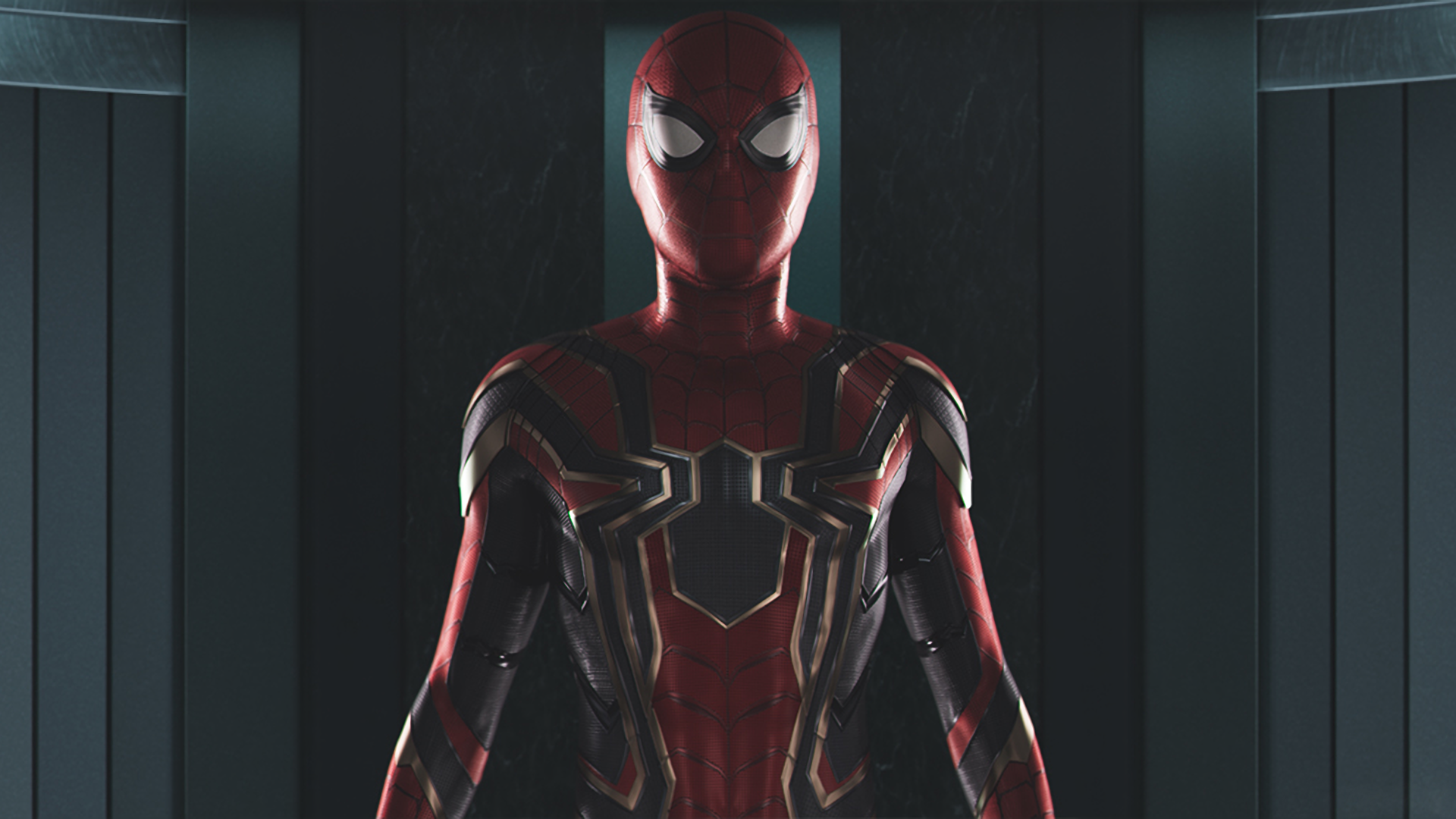 Wonderful Spider Man Homecoming Infinity War Wallpaper - thumb-1920-858245  Image_145117 .png