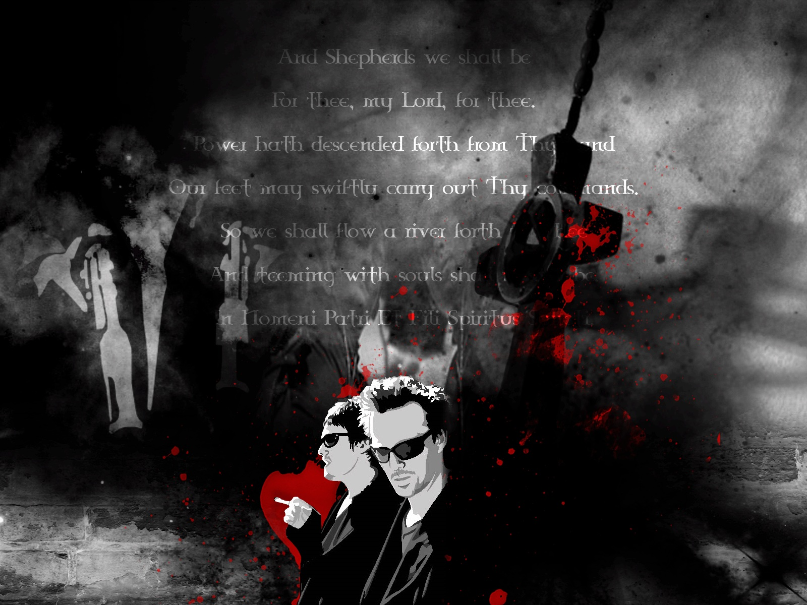 Movie - The Boondock Saints  Light Lines Wallpaper
