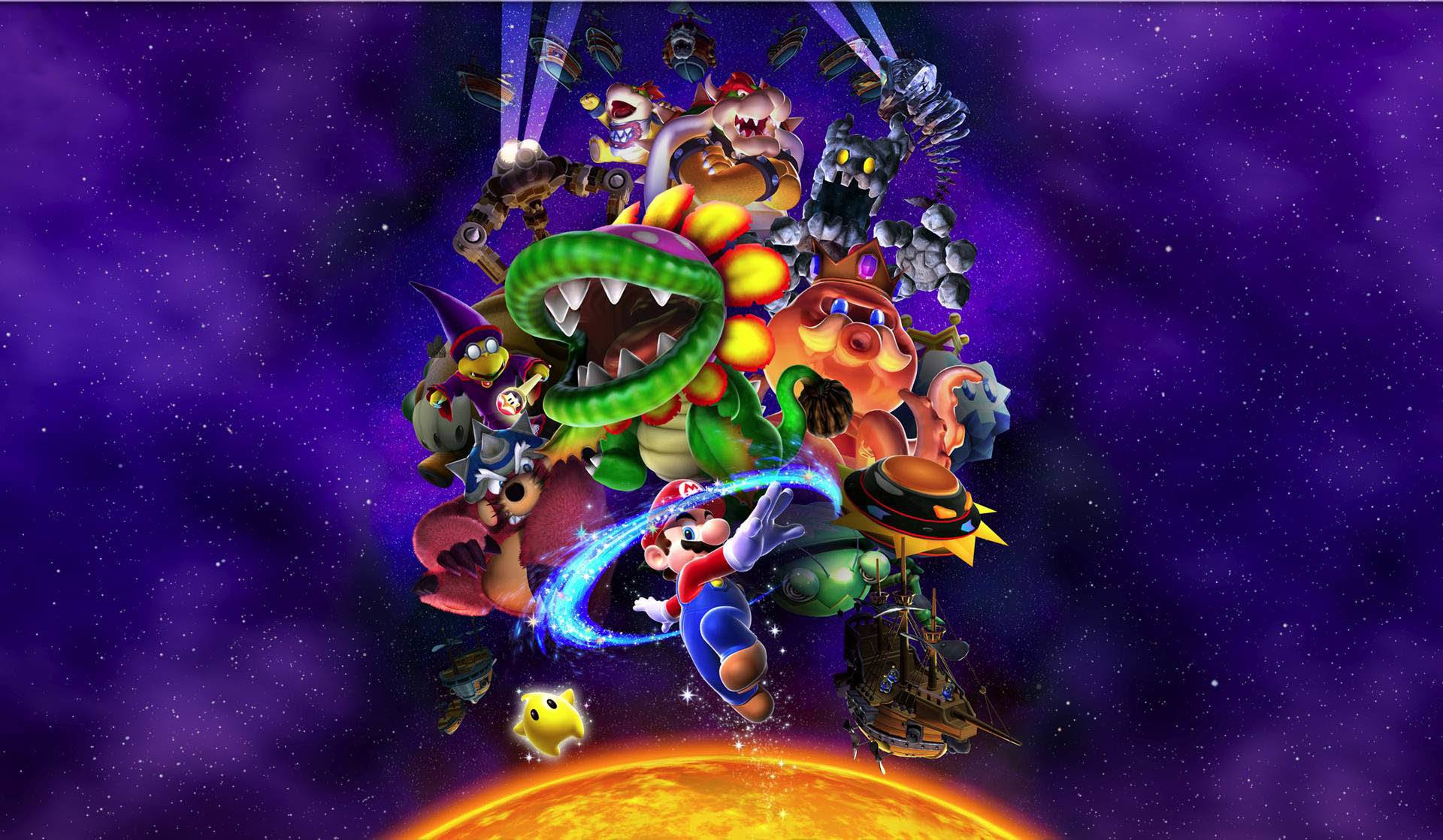 33 Super Mario Galaxy HD Wallpapers | Background Images - Wallpaper