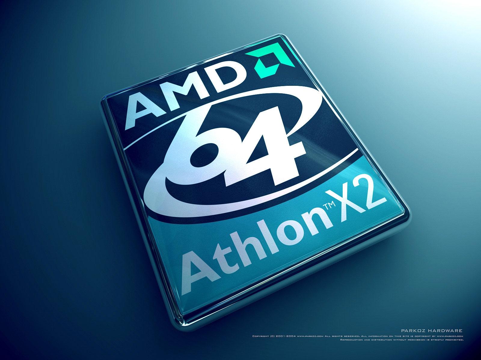 Technology - AMD  Athlon X2 Bakgrund
