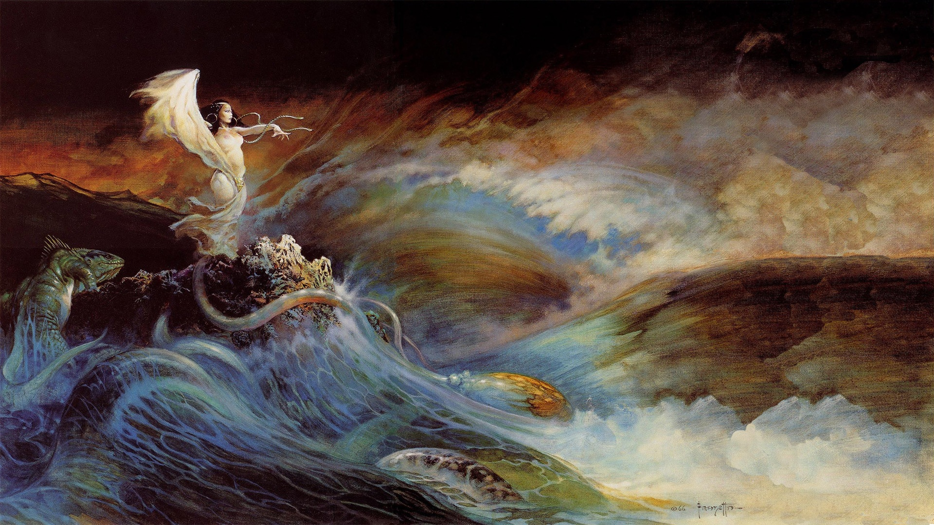 2 frank frazetta hd wallpapers backgrounds wallpaper abyss for Best painting images